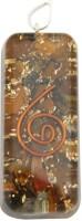 Aaradhi Divya Mantra Metaphysical Tiger Eye Reiki DVYM0000984 Agate Acrylic Pendant