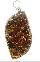 Aaradhi Divya Mantra Metaphysical Tiger Eye Stone Reiki DVYM0001005 Agate Acrylic Pendant