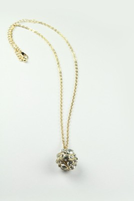 Nesarang Cluster Ball Necklace - KNT0314 Crystal Pendant Set