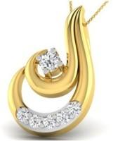 His & Her Love Forever 18kt Diamond Yellow Gold Pendant - PELECK5HYZNPGNUZ