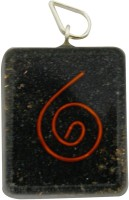 Aaradhi Divya Mantra Metaphysical Black Tourmaline Stone Reiki DVYM0000849 Agate Acrylic Pendant