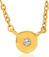 His & Her HHP8258_Y 18kt Diamond Yellow Gold Pendant