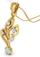 WearYourShine By PC Jewellers The Ojasi 14kt Diamond Yellow Gold Pendant