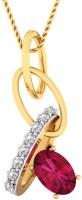 WearYourShine By PC Jewellers The Wrelika 18kt Diamond Yellow Gold Pendant