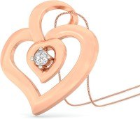 WearYourShine By PCJ The Kelis Heart 18K Diamond Gold Pendant