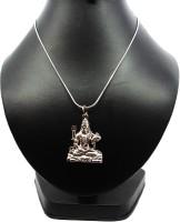 Bling N Beads Shiv Om Namah Shivaya Mahadev Sterling Silver Alloy Pendant
