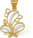 Ishtaa Gift a special one on special Occasion Yellow Gold Pendant - PELDU96K5VKSBTTF