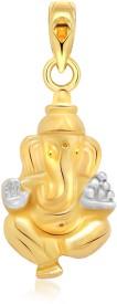 Vighnaharta Shri Avighna 22K Yellow Gold Alloy Pendant