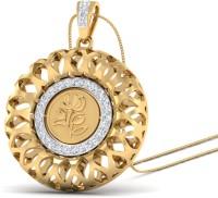 WearYourShine By PCJ The Tilika 18K Diamond Gold Pendant