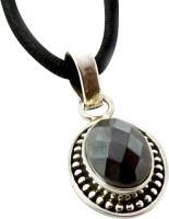 Miska Silver Designer Plated Silver Plated Garnet Silver Pendant