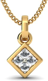 BlueStone The Mirian Yellow Gold Pendant