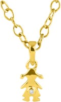 His & Her HHPXP9106_Y 18kt Diamond Yellow Gold Pendant