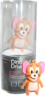 Dinosaur Drivers Jerry Cute 8 GB  Pen Drive (Multicolor)