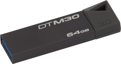 Kingston DTM30 64 GB  Pen Drive (Grey)
