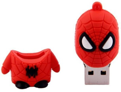 Storme Spiderman 8 GB  Pen Drive (Red)