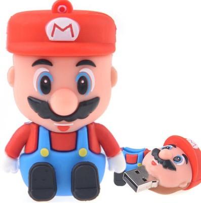 Dreambolic Mario 16 GB  Pen Drive (Red)
