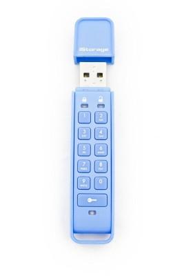 iStorage Datashur Personal 8 GB  Pen Drive (Blue)