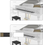 HD ARTS White Piano