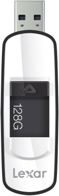 Lexar Jump Drive 128 GB  Pen Drive (Black)