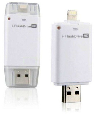Coolnut Caiphpd-22 Dual Port Hd & Usb Flash Drive 32 GB  Pen Drive (White)