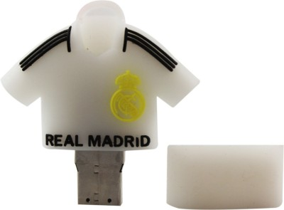 Shopizone Real Madrid 32 GB  Pen Drive (White)