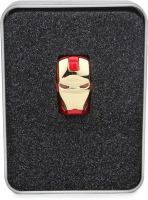 Huppme Iron Man Facee 8 GB  Pen Drive (Red, Gold)