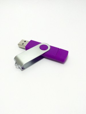Seasonz International OTG-16PU 16 GB  Pen Drive (Purple)