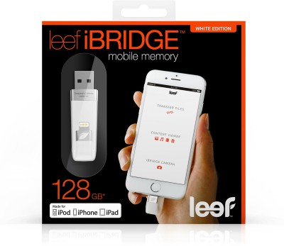 Leef iBridge Mobile Memory 32 GB  Pen Drive (White)