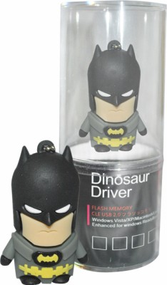 Dinosaur Drivers Nice Batman 16 GB  Pen Drive (Black)