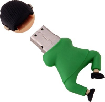 Yes Celebration Gangnam Style 8 GB  Pen Drive (Green)