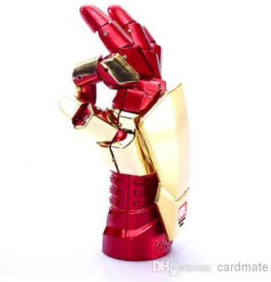 ENRG Iron Man Hand 8 GB  Pen Drive (Red, Gold)