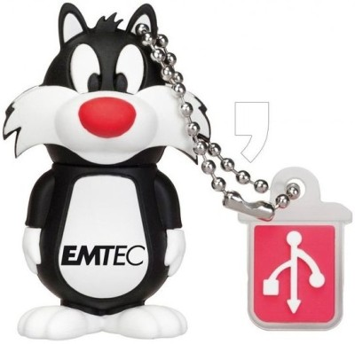EMTEC EMTEC USB MP3 Player 8GB Sylvester pendrive 8 GB  Pen Drive (Black)