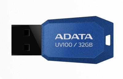 Adata Flash Drive UV100 32 GB  Pen Drive (Blue)