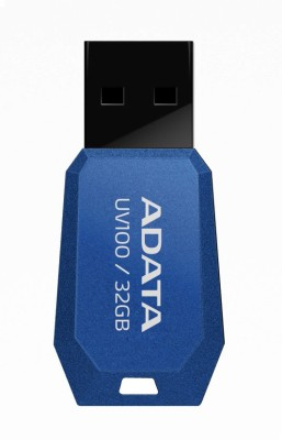 Adata Flash Drive UV100 32 GB  Pen Drive (Blue)