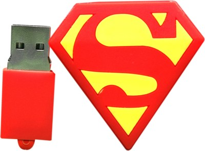 The Fappy Store Super Man logo 32 GB  Pen Drive (Multicolor)