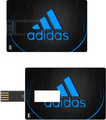Print Shapes Blue adidas Credit Card Shape