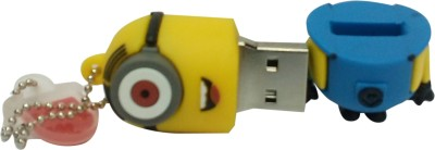 Vibes P-022 16 GB  Pen Drive (Yellow)