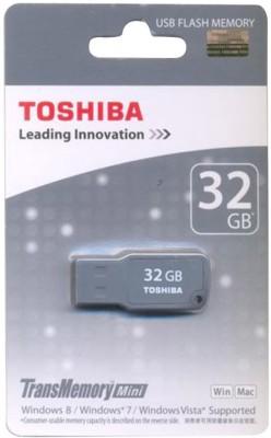 Toshiba USB 2.0 32 GB  Pen Drive (Grey)