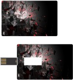 Print Shapes Blasting Credit Card Shape