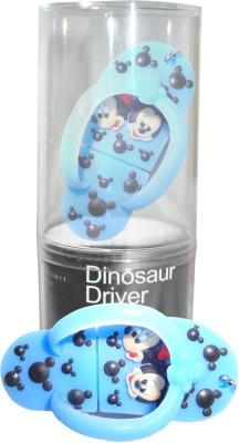 Dinosaur Drivers Chappal Blue