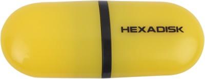 Hexadisk PD01132 16 GB  Pen Drive (Yellow)
