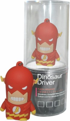 Dinosaur Drivers Thunder Batman 16 GB  Pen Drive (Red)
