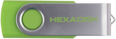 Hexadisk HXPD16Green 16 GB  Pen Drive (Green)