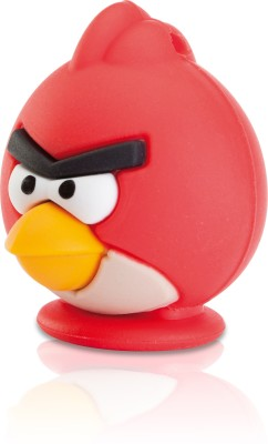 EMTEC Angry Birds USB 2.0 8 GB  Pen Drive (Red)