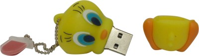 Vibes P-006 16 GB  Pen Drive (Yellow)