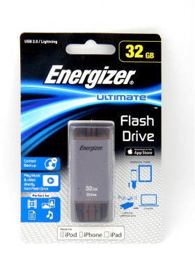 Energizer Lightning flash drive 32 GB  Pen Drive (Grey)
