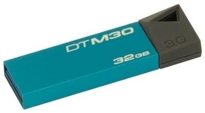 Kingston DTM30 32 GB  Pen Drive (Blue)