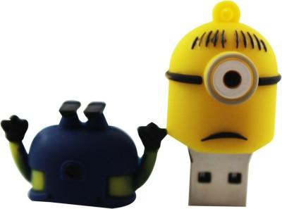 Shopizone Minion 1 eye Sad 32 GB  Pen Drive (Yellow, Blue)