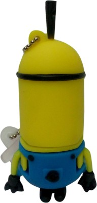 Vibes P-032 16 GB  Pen Drive (Yellow)
