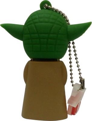 Vibes P-010 16 GB  Pen Drive (Green)